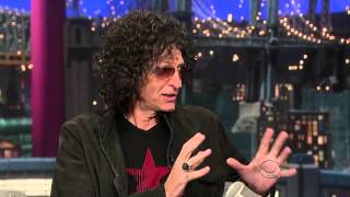 Howard Stern on Late Show with David Letterman 6 Sep 2012 Part 1