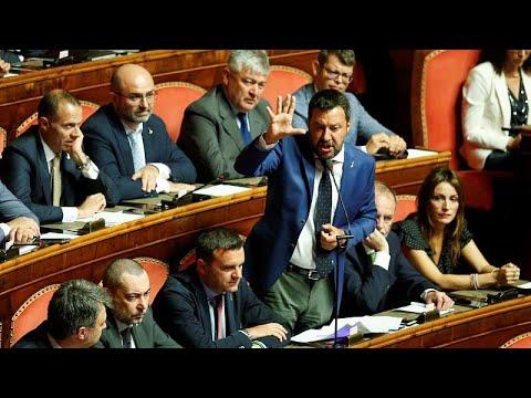 Euronews:Italian Senate rejects request for immediate no-confidence vote debate