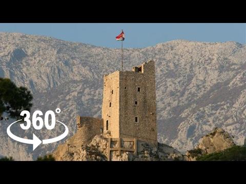 Fortress Mirabella — Omiš | 360º VR | Pointers Travel
