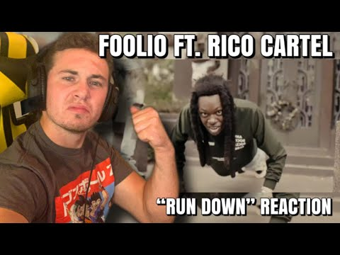 """DOWNLOAD: Foolio """"Run Down"""" FT Rico Cartel (OFFICIAL MUSIC VIDEO) REACTION Mp4 song"""