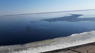 Волга. Март 2020 #река, #Волга, #весна, #природа
