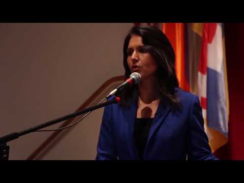 """Rep. Tulsi Gabbard: """"The strength and resilience of the Armenian people came through loud and clear"""""""