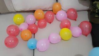 Balonlar Buğra'nın Saçına Yapıştı. Berat Minik Balonları Patlattı