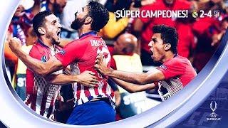 REAL MADRID VS ATLÉTICO DE MADRID 2-4 | SUPERCOPA DE EUROPA 2018 | MI OPINIÓN