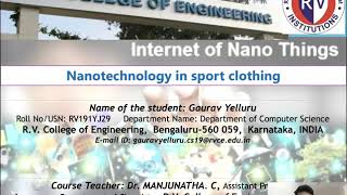 Nanotechnology in sports clothing