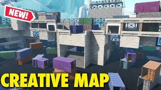 *NEW* FORTNITE DEATHMATCH | TDM & FREE FOR ALL | Map 4 (Fortnite Creative Mode)
