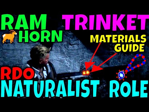 RDO Naturalist Role RAM HORN TRINKET Crafting And Materials Locations Guide ! #WILLSTAR