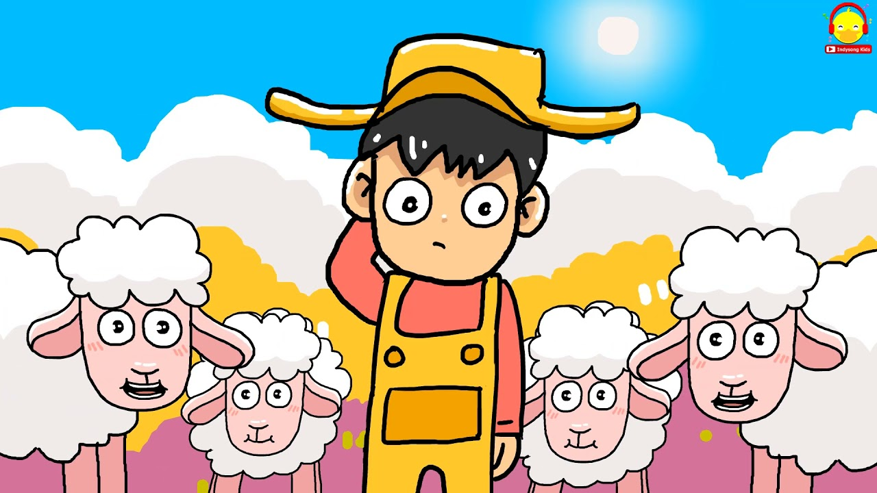 เพลงแกะน้อย Sheep song | เพลงเด็กน้อย indysong kids