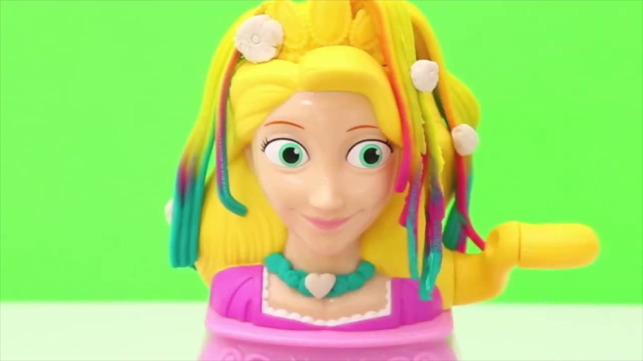 Play doh princess hair unboxing toys
