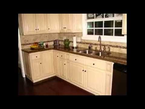 white kitchen cabinets with granite - youtube
