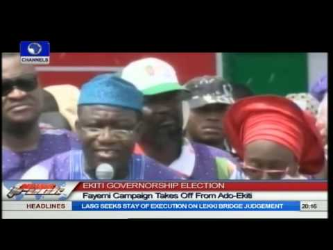 Fayemi Kicks Off Re-election Campaign In Ado-Ekiti