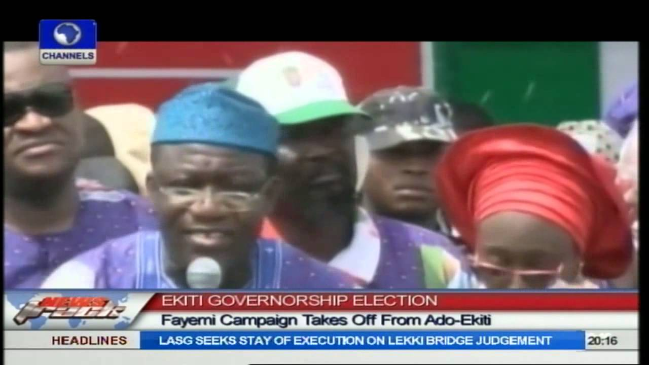 Fayemi Kicks Off Re-election Campaign In Ado-Ekiti