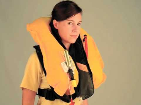 Popping The Inflatable Pfd Doovi