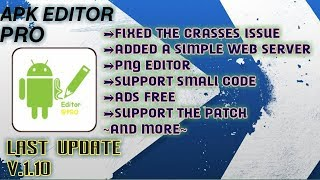 Download Apk Editor Pro Mod Last Update | Download Apk Editor Pro Last Update (No Crash)