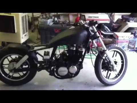 hqdefault 1983 honda cb650 nighthawk bobber youtube 1984 honda nighthawk 650 wiring diagram at fashall.co