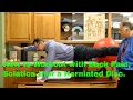 How to Workout with Back Pain, Sciatica, &/or Herniated Disc?