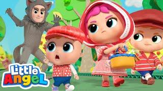 Don't Talk to Strangers! | Little Red Riding Hood | Little Angel Kids Songs & Nursery Rhymes