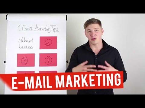 6 Email-Marketing Tipps, um deinen Umsatz zu verdoppeln (Video 1 von 2)