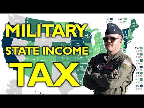 Paying State Income Tax In The Military (or NOT Paying)