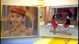 Jornal do Almoço entrevista Yasmin Esswein - campeã do Soletrando 2012
