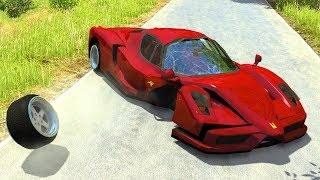 High Speed Driving Fails&Crashes #11 - BeamNG Drive