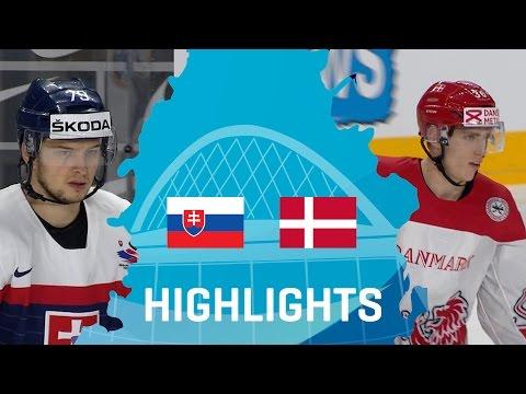 Slovakia - Denmark   Highlights   #IIHFWorlds 2017