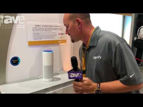 CEDIA 2018: Somfy Systems Demos Alexa Skill With ZbDMI