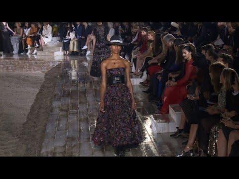 Dior presents mid-season fashion show in Chantilly