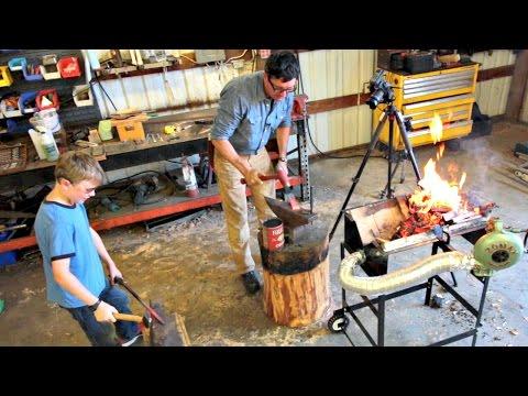 Blacksmith With Wood