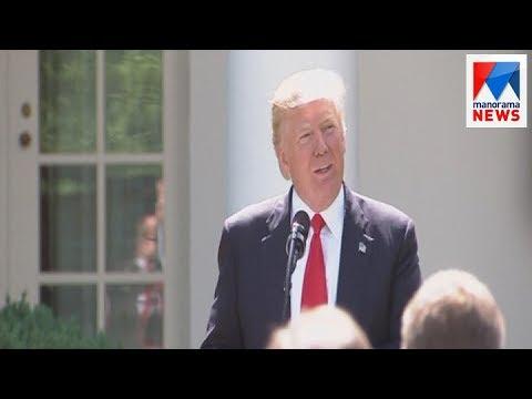 Donald Trump talks to Saudi King related to Qatar crisis   Manorama News