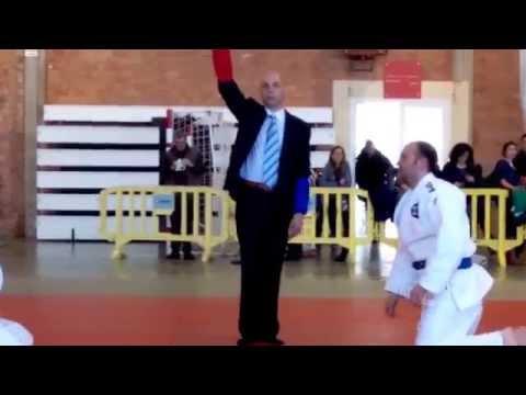 Campeonato Aragón 2015 Ne-Waza -94kg. David Cruz - Alfonso Fernández