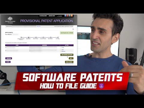 How To File An International Software Provisional Patent | Australian Walkthrough 😈