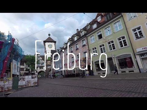 Freiburg town and driving trough Schwarzwald the Black Forest in Germany - later France!