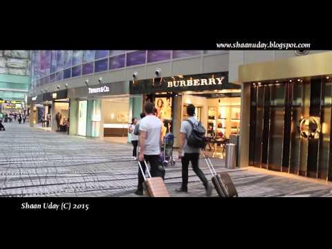 SINGAPORE  #6  | Changi Airport (1/2) | Duty Free Shop