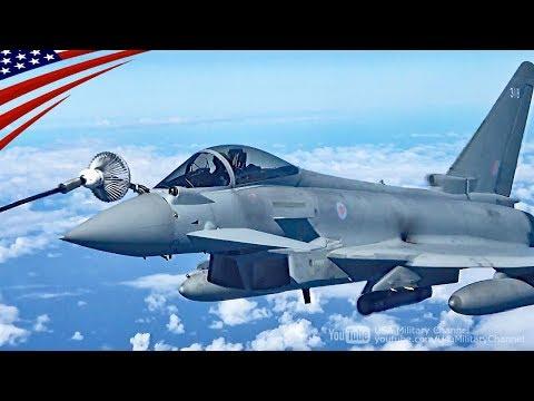 F/A-18スーパーホーネット & ユーロファイター・タイフーンの空中給油