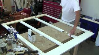 Build Simple Bathroom Wainscot Pt 1