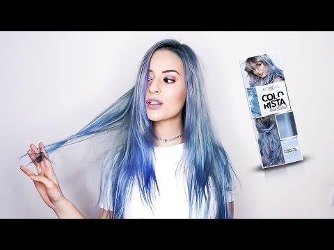 L'ORÉAL COLORISTA REVIEW #BLUEHAIR | Washout | COCO Chanou