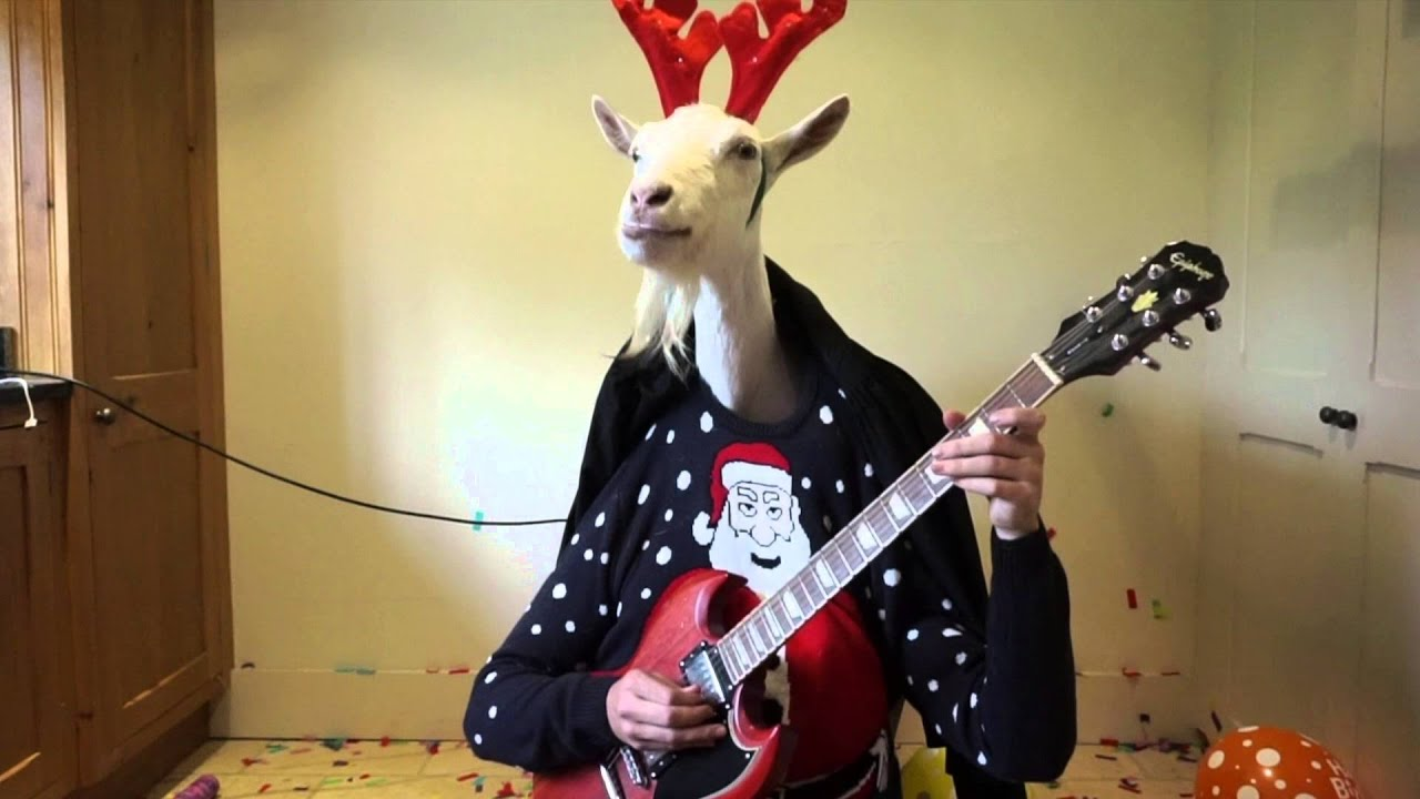 Rudolf The Red Nosed Reindeer By Jemima The Goat YouTube