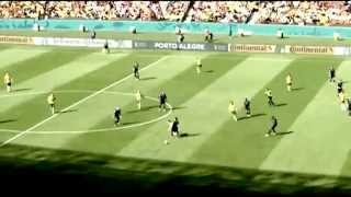 Tim Cahill scores an amazing goal against Netherlands.