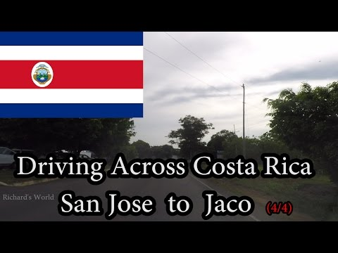 Driving Across Costa Rica - San Jose to Jaco (4/4) November 2016
