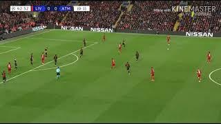 الشوط الأول.. فينالدوم يفك شفرة دفاعات أتليتكو مدريد ويتقدم لليفربول..فيديو
