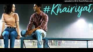 Gambar cover Khairiyat Pucho (Sad Version) Arijit Singh Mp3 Song  Chhichhore