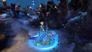 League of Legends - River Spirit Nami (Recall Animation)