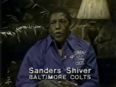 Action TV Rentals  (Baltimore) ad with Sanders Shiver from 1981