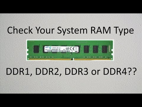How To Check Your System RAM Type? | PCGUIDE4U