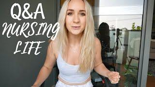 Q&A Nursing, Fitness, Australia!