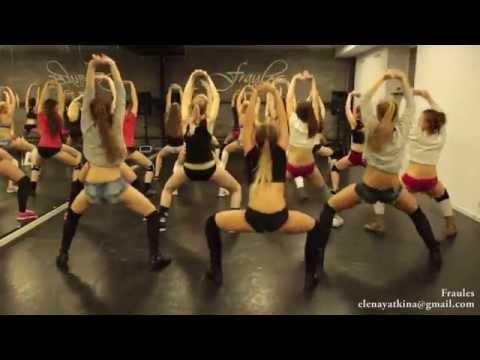 "NEW twerk choreo by DHQ Fraules - Travis Porter ""Bring it back"""
