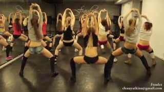 "NEW twerk choreo by DHQ Fraules - Travis Porter ""Bring it back"""
