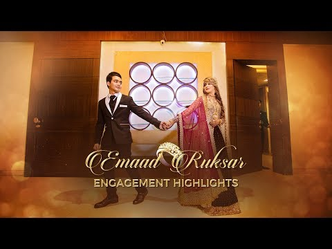 Slow Motion Mein.. - Bharat - Engagement Highlights : Emaad + Rukhsar