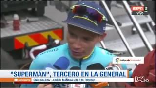 Superman López: segundo en la etapa 20 y podio en la Vuelta a España